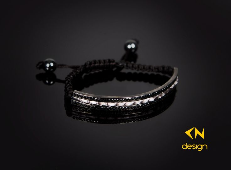 Genuine Python Leather & Sterling Silver Bracelet by Cndesignofficial on Etsy (null)