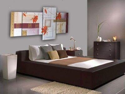 cuadros modernos para dormitorios coloridos