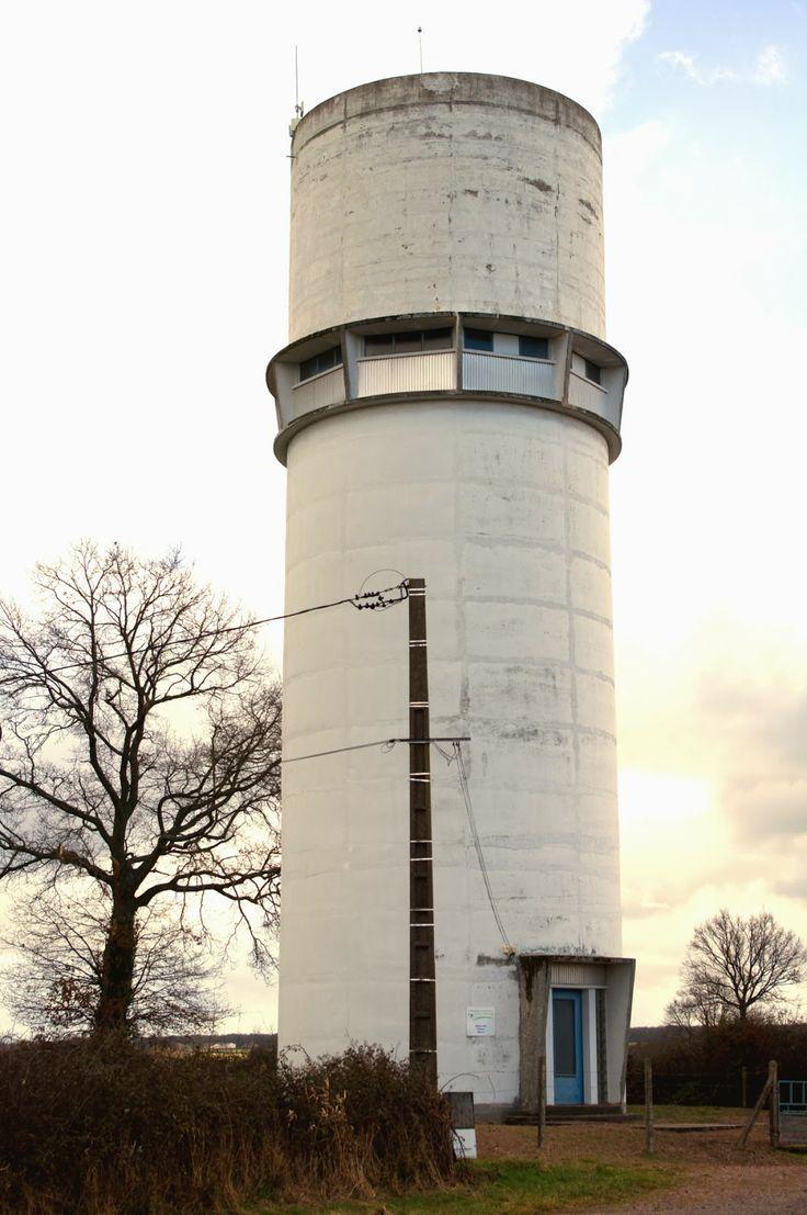 Châteaux d'eau en France: Vivans, Loire, février 2014