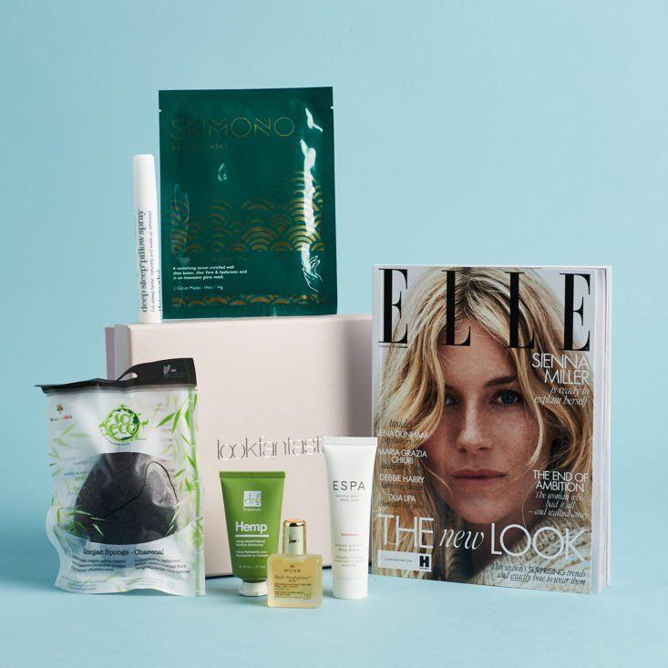 Look Fantastic Beauty Box Review November 2019 Msa Beauty