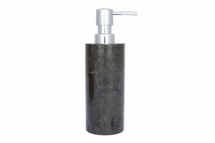 Met deze mooie zwart marmeren zeepdispenser in uw badkamer, keuken of toilet geen plastic flesjes meer bij u op de wastafel maar…