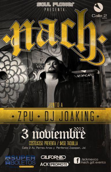Nach (Scratch) - 3 de Noviembre @ Calle 2