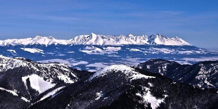 smallest mountain range of Alpine character – High Tatras, Slovakia