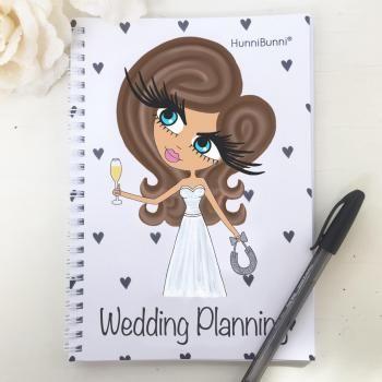 HunniBunni Notebook Wedding Planning