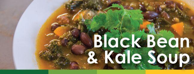 Black Bean & Kale Soup