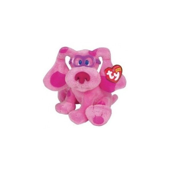 Magenta Blues Clues, Ty Stuffed Animals, Ty Dog, Stuffed Blues Clues,... ($20) ❤ liked on Polyvore featuring stuffed animals and teddy bear's