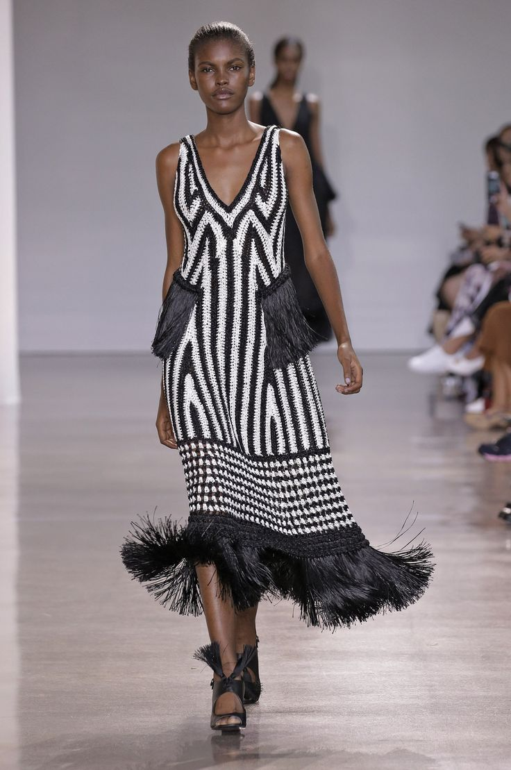 The 9 Biggest Trends From New York Fashion Week . UNXPECTED FRINGE