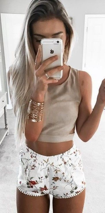 Summer outfit / shorts   tank top