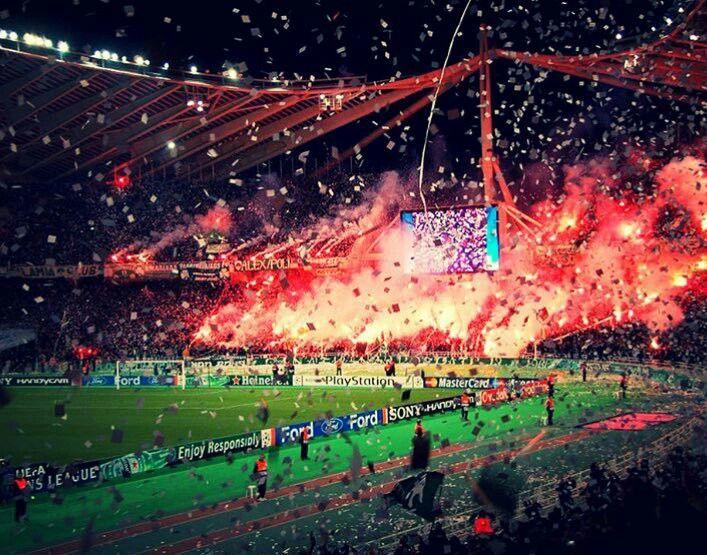 Panathinaikos fans (Gate 13) #Football #greece #athens #ultras #panathinaikos