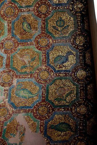 Golden mosaic, The Rotunda, Thessaloniki, Greece