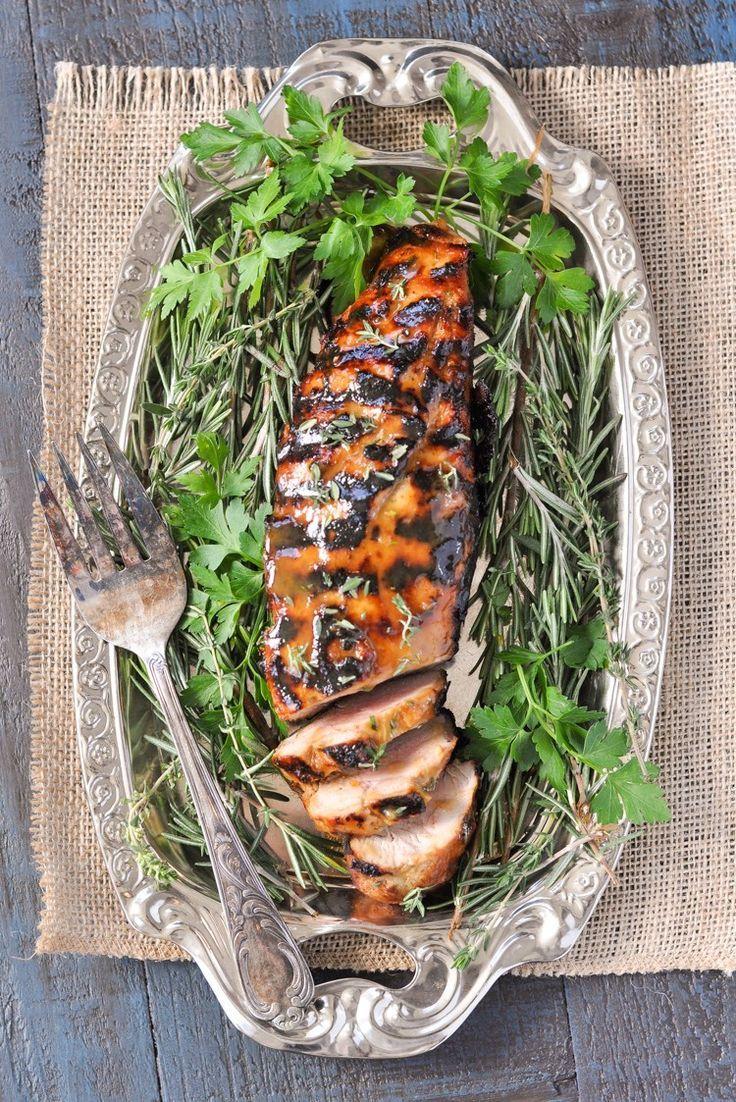 Garlic pork loin recipes in the oven