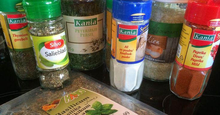 Lekker eten met Marlon: Zelf kruidenmixen maken -> Italiaanse kruidenmix