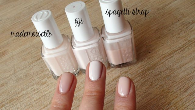 essie ballet slippers and mademoiselle - Google Search