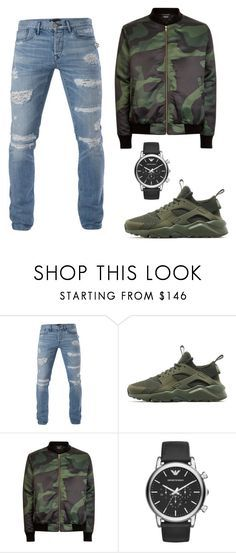 """"" by mureet ❤ liked on Polyvore featuring 3x1, NIKE, Emporio Armani, men's fashion and menswear"