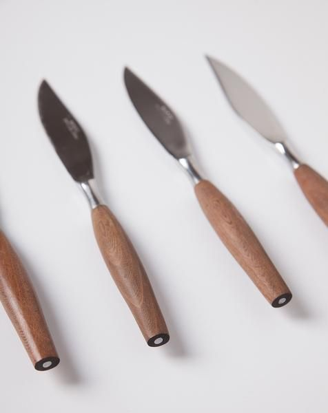 Mid-Century Modern Knife Set
