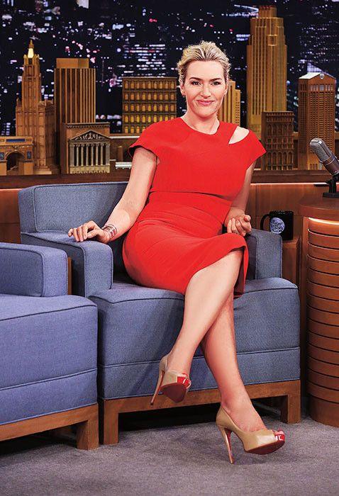 Интервью Кейт Уинслет: Мне повезло! У меня есть грудь и попа - Woman's Day