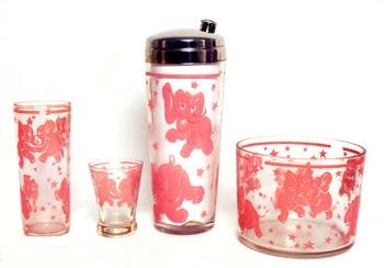 ... elephants! on Pinterest | Elephants, Vintage pink and Cocktail shaker