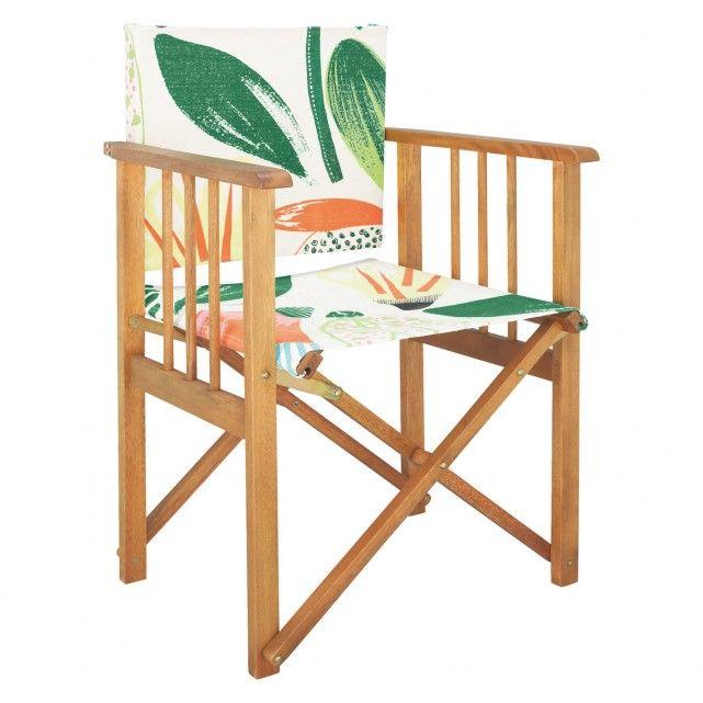 AFRICA Floral director's chair - £30, Habitat | Garden ...
