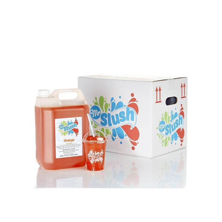 Orange Slush Syrup - Buy Mr Slush Syrups