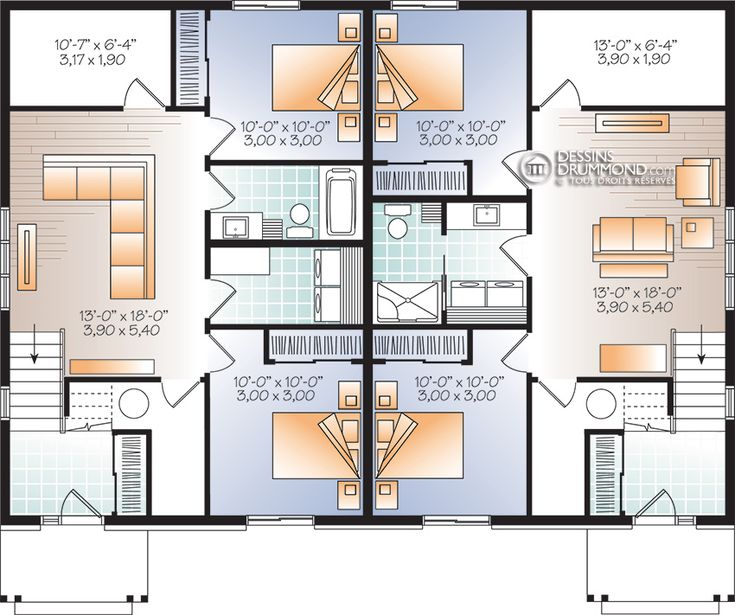 10 best plan images on Pinterest Home ideas, House design and - faire ses plans de maison gratuit