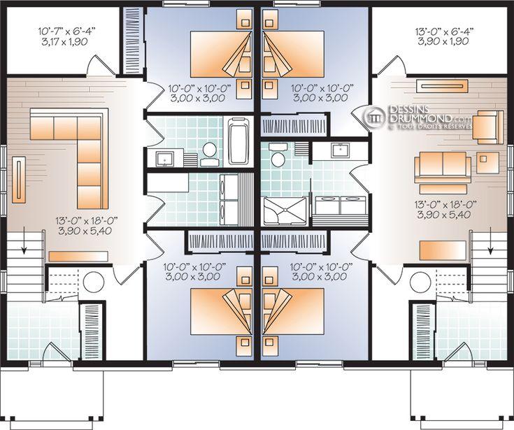 10 best plan images on Pinterest Home ideas, House design and - simulation construction maison gratuit
