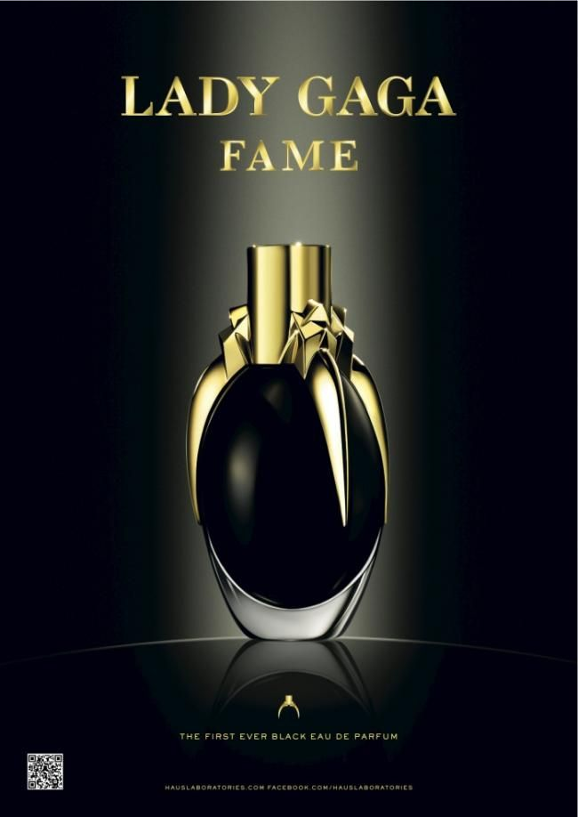 Lady Gaga's Fame Fragrance grand-daughter  Has