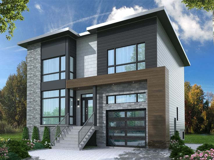 130 best Modern House Plans images on Pinterest Contemporary