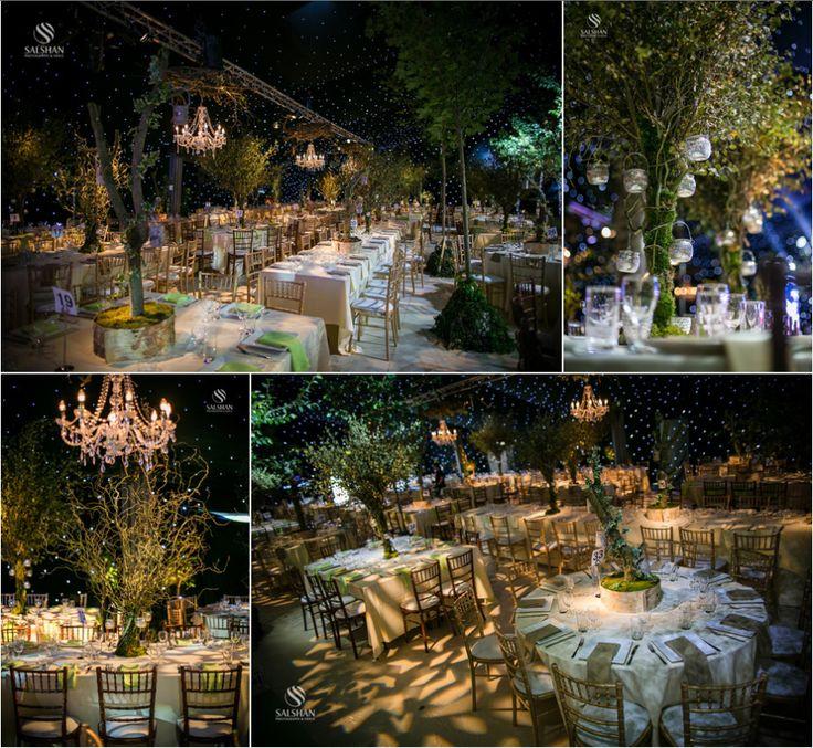 Enchanted Forest Wedding at Park Hall Estate