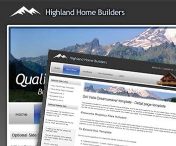 website templates dreamweaver