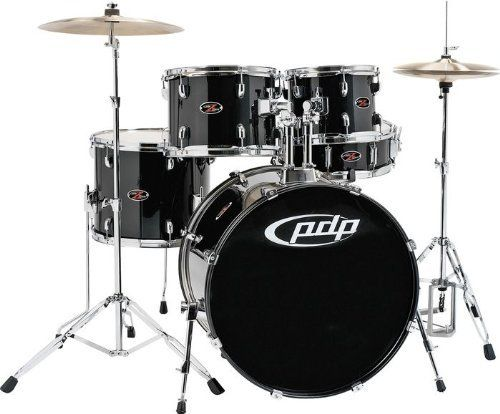 """Pacific Drums by DW Z5 Shell Pack (Cymbals + Hardware not inluded) - Carbon Black by Pacific Drums. $251.91. This 5-piece Z5 Series drum shell pack from Pacific Drums and Percussion is an ideal shell pack for aspiring drummers everywhere. The 5-piece shell pack features fusion tom sizes (10"""" x 8"""", 12"""" x 9"""", and 14"""" x 12""""), all-wood construction, FinishPly wrap, and an array of spotlight-stealing colors."""