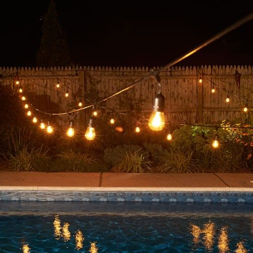 5 Ways To Use Rope + String Lights Outside For Summer
