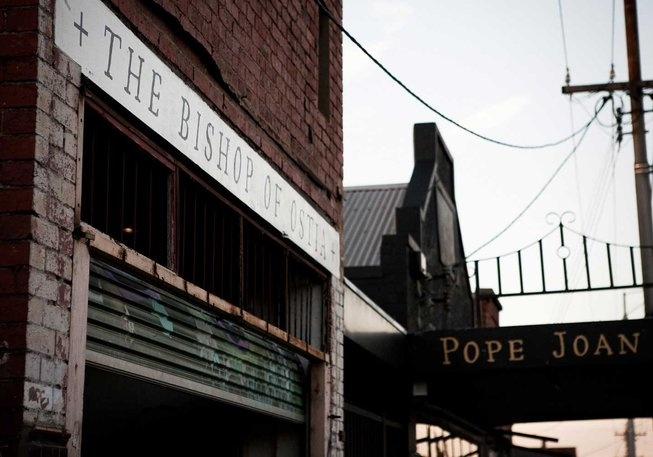 Pope Joan, cafe, brunswick