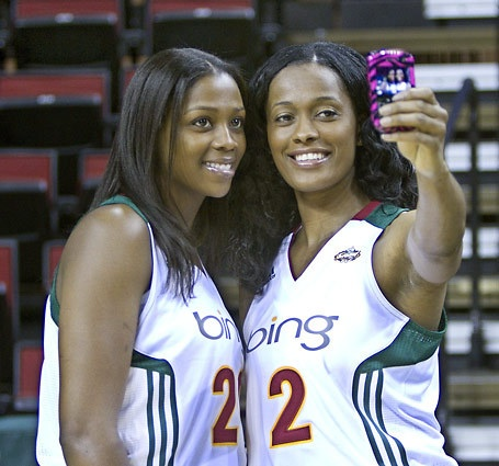 Camille Little and Swin Cash: Seattle Storms Sports, Seattle Style