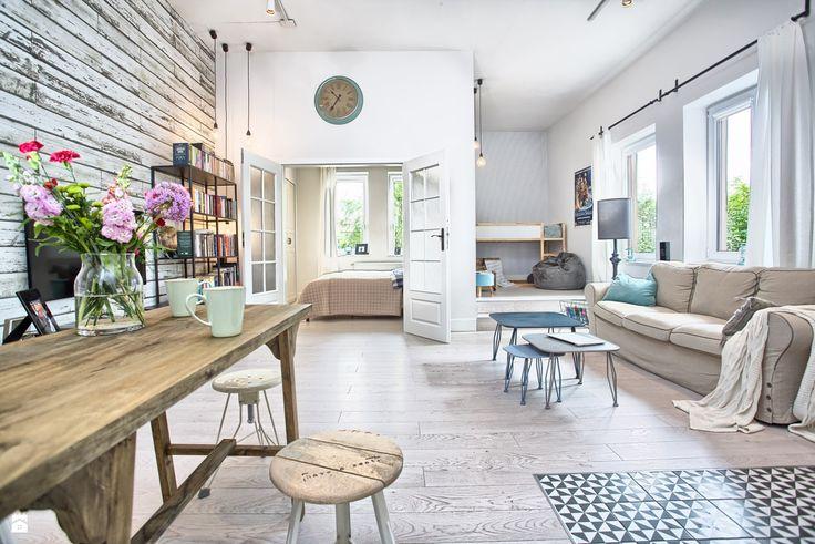 Salon styl Skandynawski - zdjęcie od emDesign home & decoration - Salon - Styl Skandynawski - emDesign home & decoration