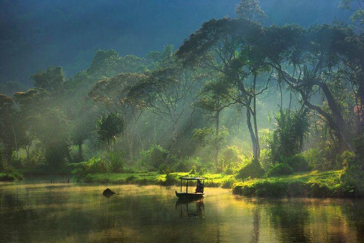 Situ Gunung, Mt Gede Pangrango national park, West Java - Indonesia
