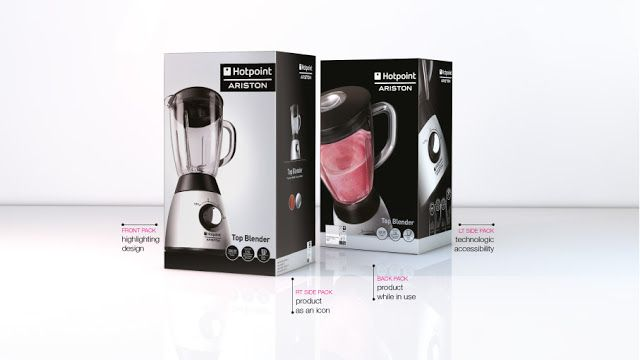 Hotpoint Ariston Small Kitchen Appliances on Packaging of the World - Creative Package Design Gallery