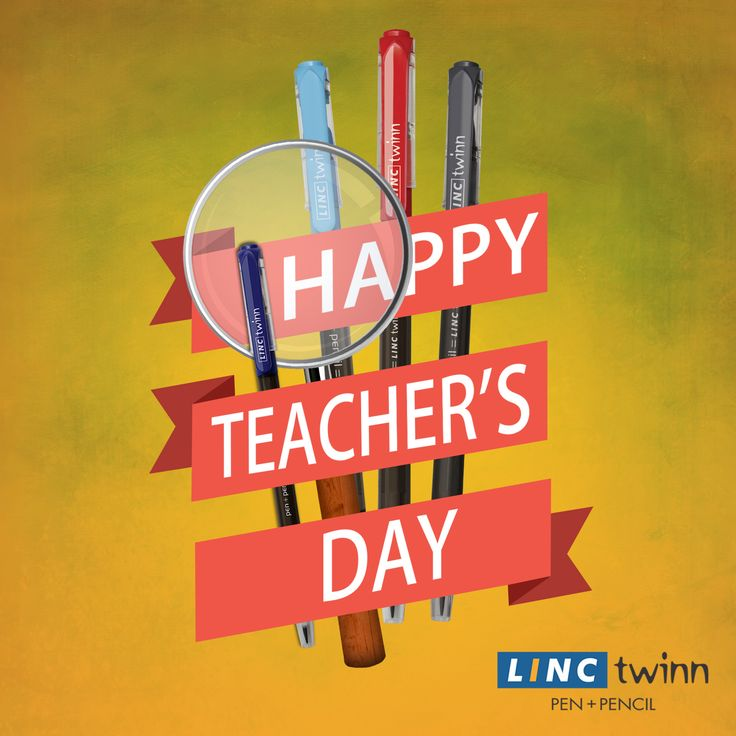 """A good teacher is a master of simplification and an enemy of simplism.""—Louis A. Berman Wishing you all a Happy Teacher's Day! #HappyTeachersDay #LincPens #LincTwinn"