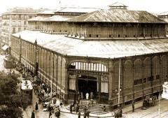 Mercado de la Cebada, La Latina, Madrid, 1910