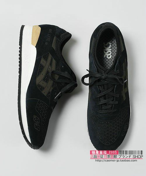 Japanese shipping purchasing ASICs fashion all-match leisure simple light and comfortable running shoes 2 color male #onitsukatiger