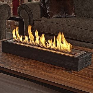 The Sienna Indoor Bio-Ethanol Fireplace by Brasa