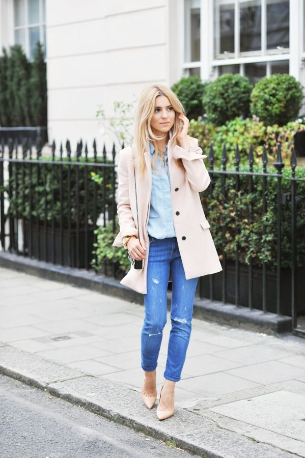 25 Stylish Ways to Pull Off Pastels in the Fall | StyleCaster