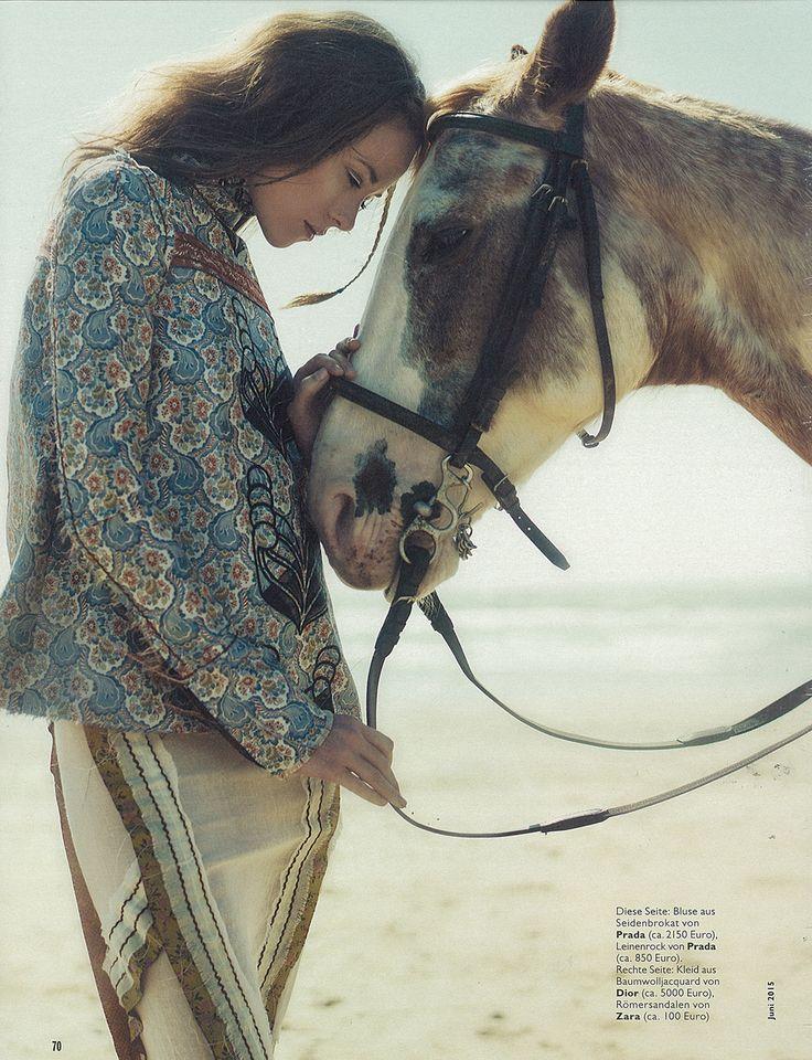 www.pegasebuzz.com | Valeria Garcia by Anna Rosa Krau for Cosmopolitan Germany, june 2015.