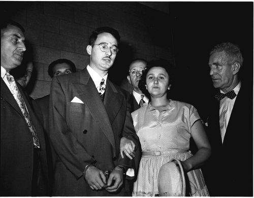 a history of the trial of julius and ethel rosenberg first prisoners executed for espionage The rosenbergs on trial for atomic espionage: summations by the defense   or were they innocent victims, who were executed for their political beliefs in an   we are fairly wise in the ways of the world and the way s of people and we all.