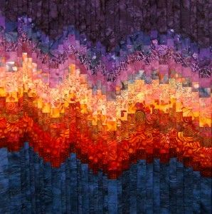 Technique Tuesday � How to select fabrics for a fabulous Bargello Quilt