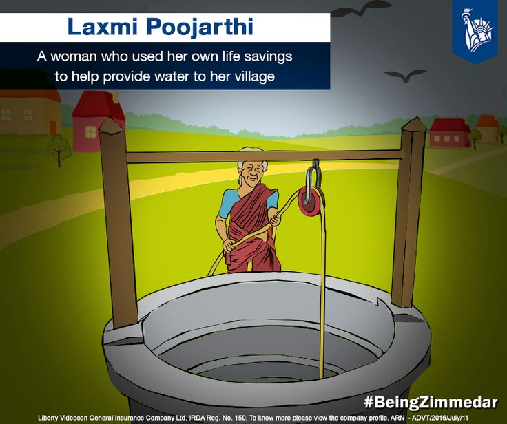 Laxmi Poojarthi, 60 year old woman living in Amparu, Udupi is a known name. Belonging to a district that was used to summer droughts, her initiative has brought relief to many villages. Witnessing the difficulties that her village was facing, she and four other women took up the initiative to build a well for her neighbourhood.Following this idea to preventing further droughts, currently, the village has dug up 5 more wells and 40 bore wells. #BeingZimmedar
