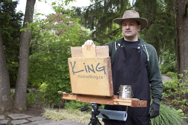My Approach to Plein Air Painting - Michael King