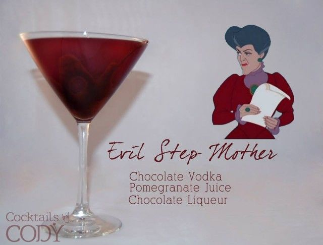 Disney Themed Cocktails by Cody - Evil Step Mother
