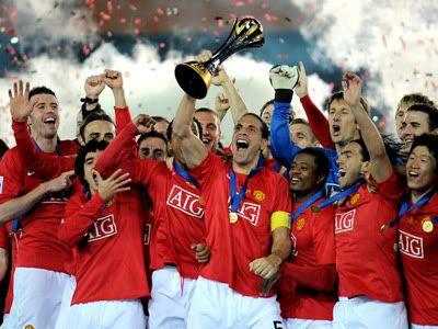 Manchester United: Campeão do Mundial de Clubes 2008