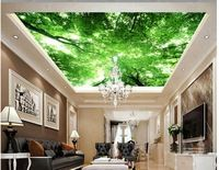 Обои 3d потолок Небо дерево потолочные фрески 3d потолочные фрески обои фото фрески на стенах обои небо потолочные обои