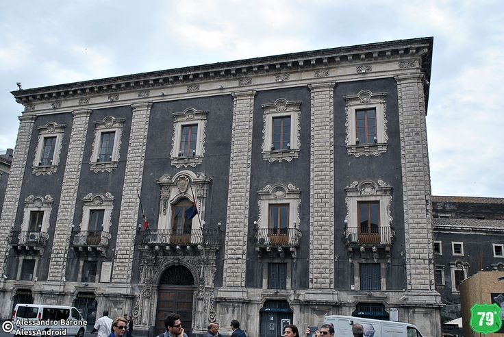 Palazzo dei Chierici #Catania #Sicilia #Italia #Italy #Viaggio #Viaggiare #Travel #AlwaysOnTheRoad